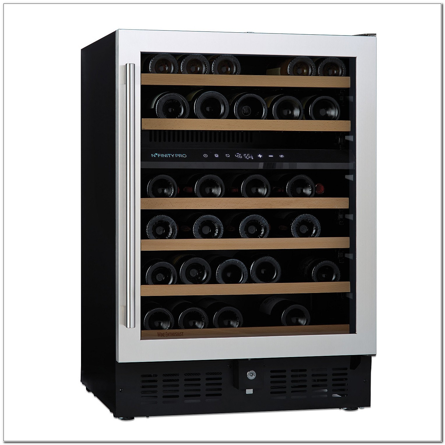 Dual Zone Wine Cooler Cabinet