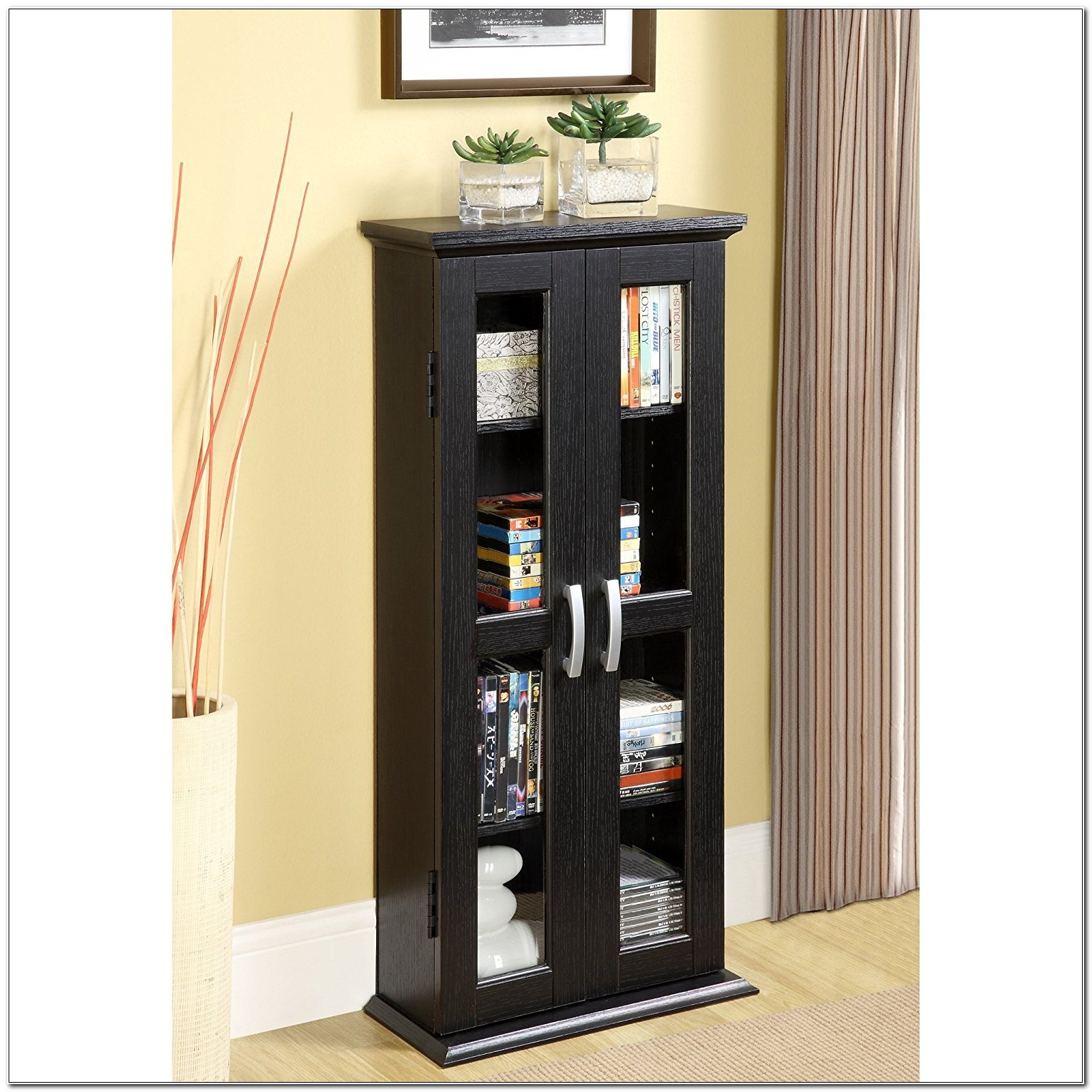 Dvd And Cd Storage Cabinets