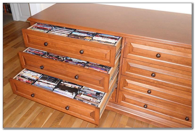 Dvd Storage Drawer Cabinet