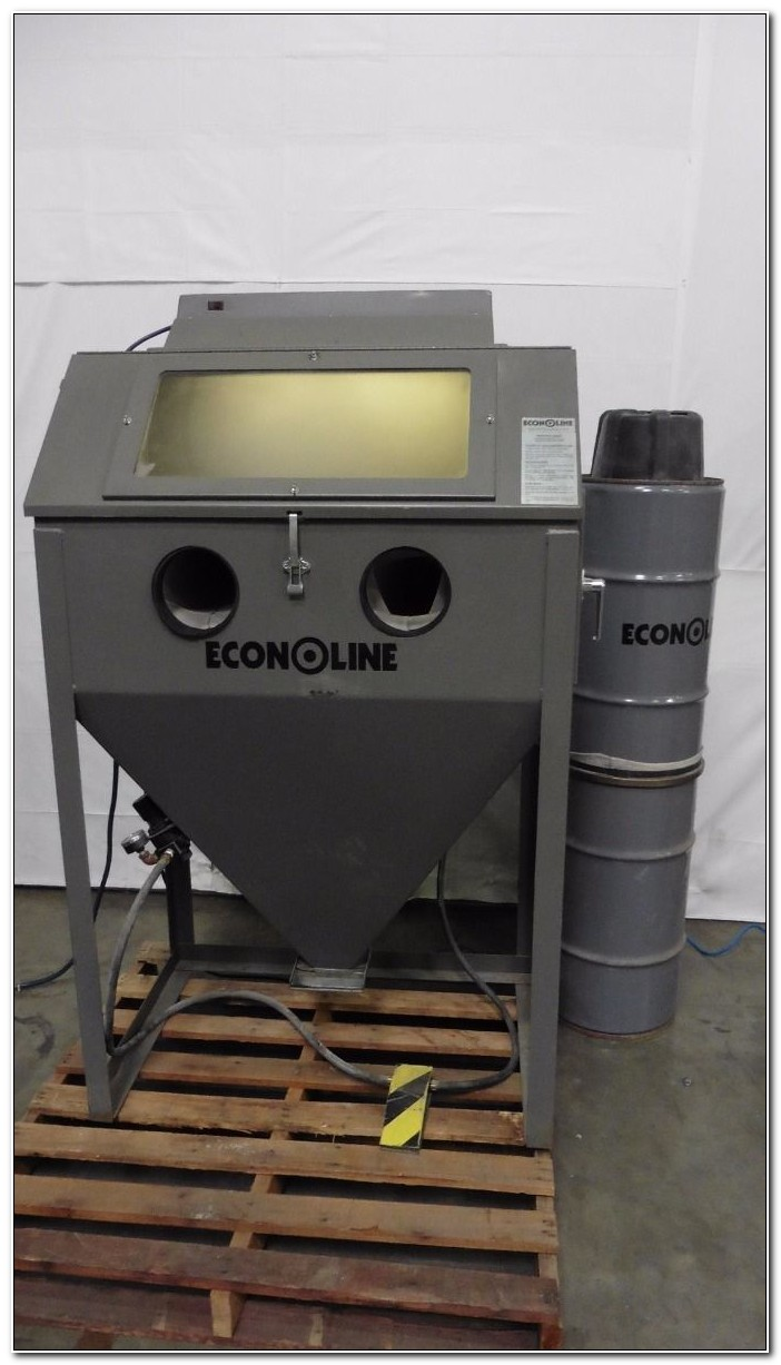 Econoline Blast Cabinet Dust Collector