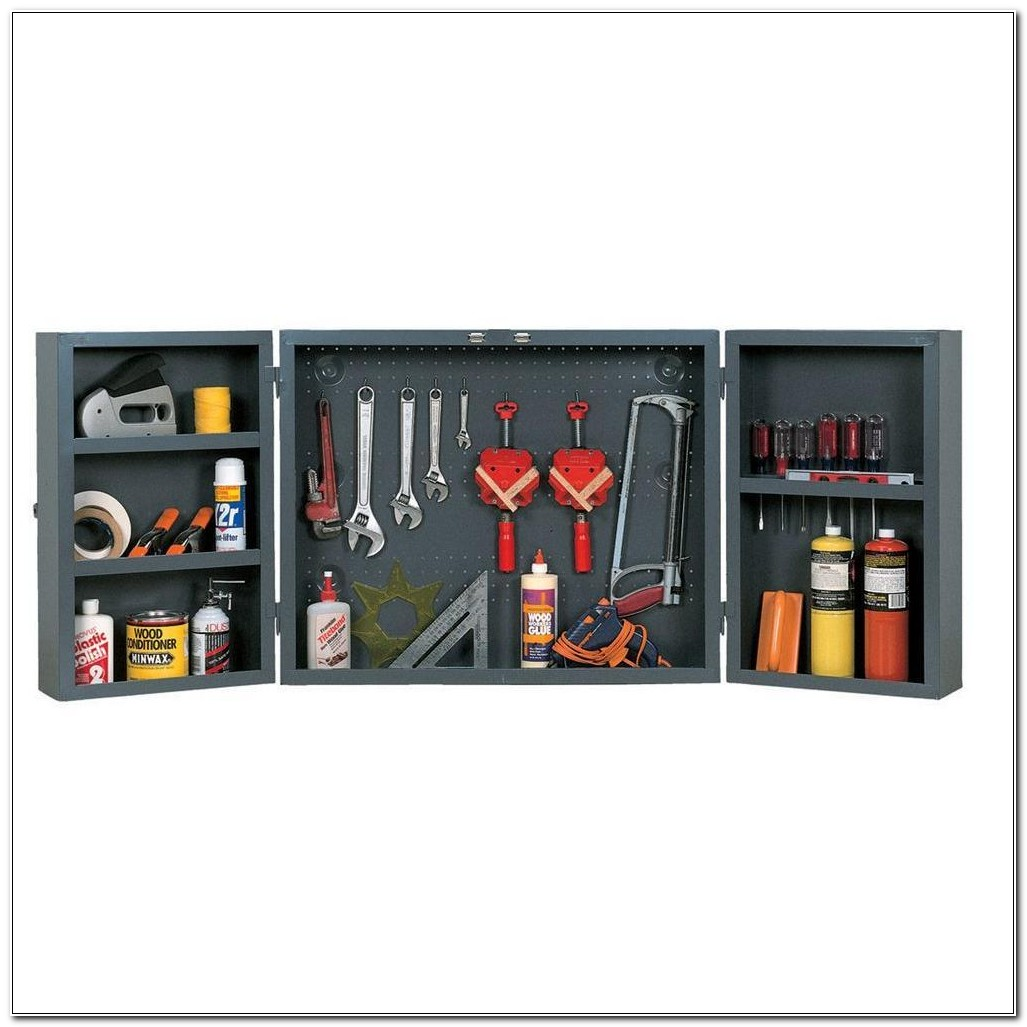 Edsal Wall Mounted Tool Cabinet