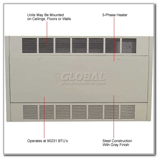 Electric Cabinet Unit Heater Berko