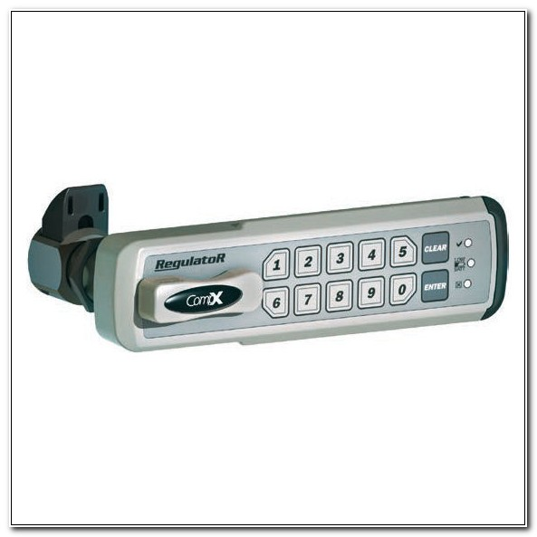 Electronic Push Button Cabinet Lock