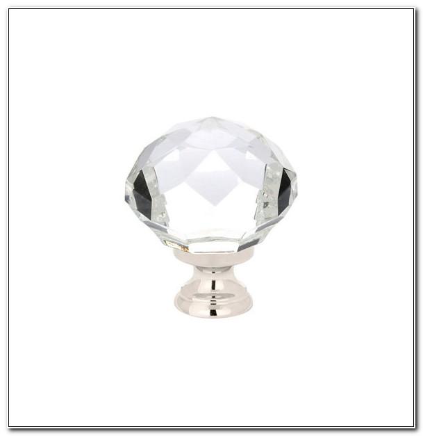 Emtek Diamond Crystal Cabinet Knob