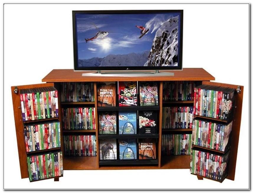 Enclosed Dvd Storage Cabinet
