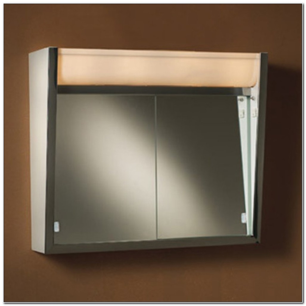 Ensign Surface Mount Lighted Medicine Cabinet