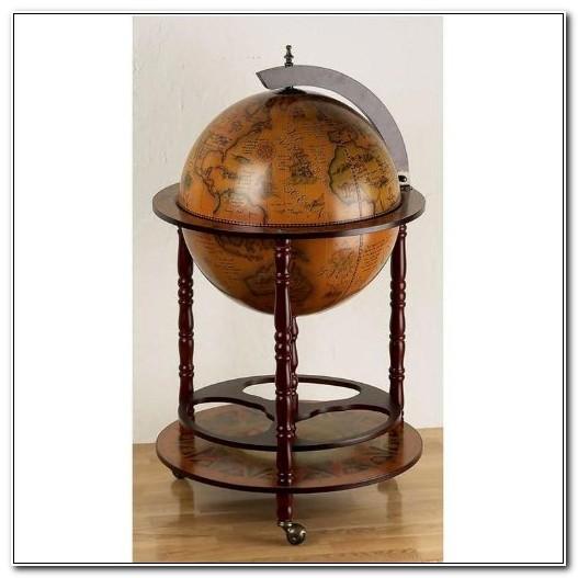 Eucalyptus Bar Globe Drinks Cabinet Uk