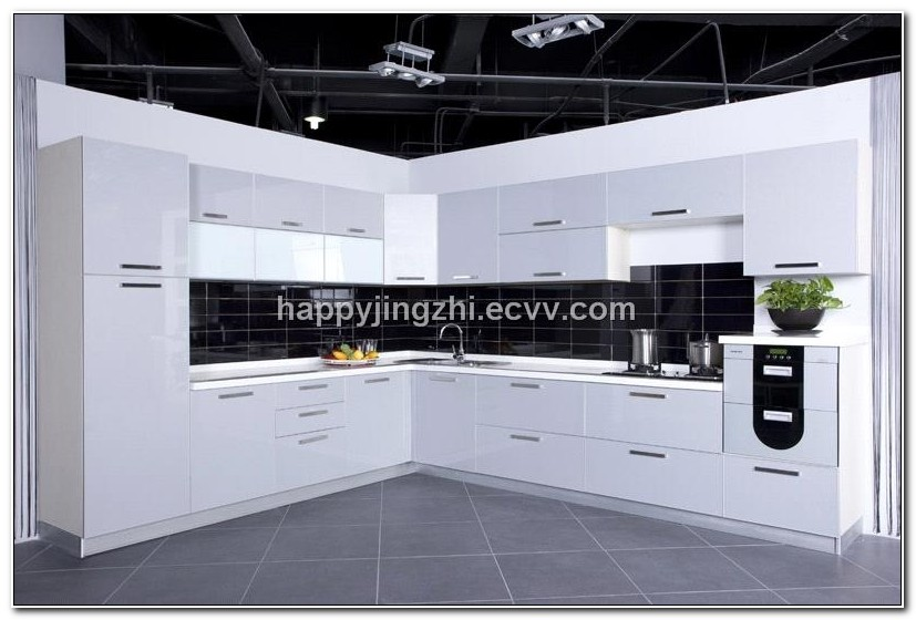 European Style Modern High Gloss Kitchen Cabinets