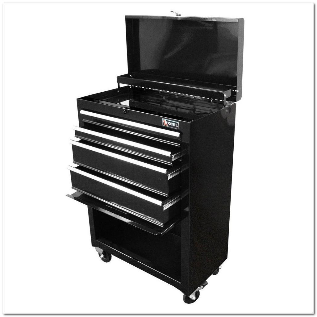 Excel 4 Drawer Steel Roller Tool Cabinet