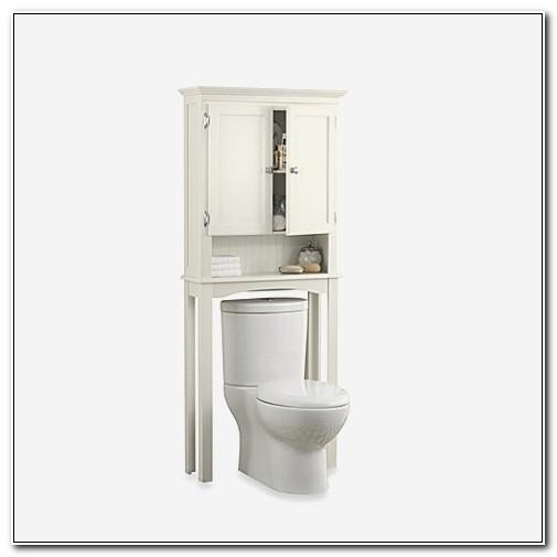 Fairmont White Space Saver Bathroom Cabinet