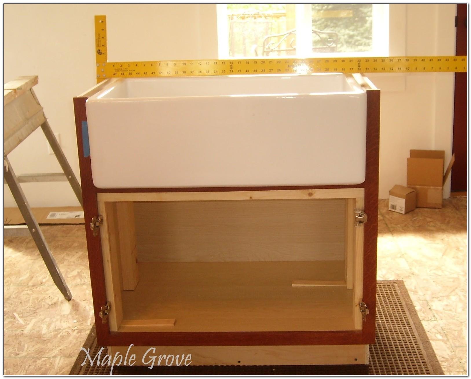 Farm Style Sink Base Cabinet