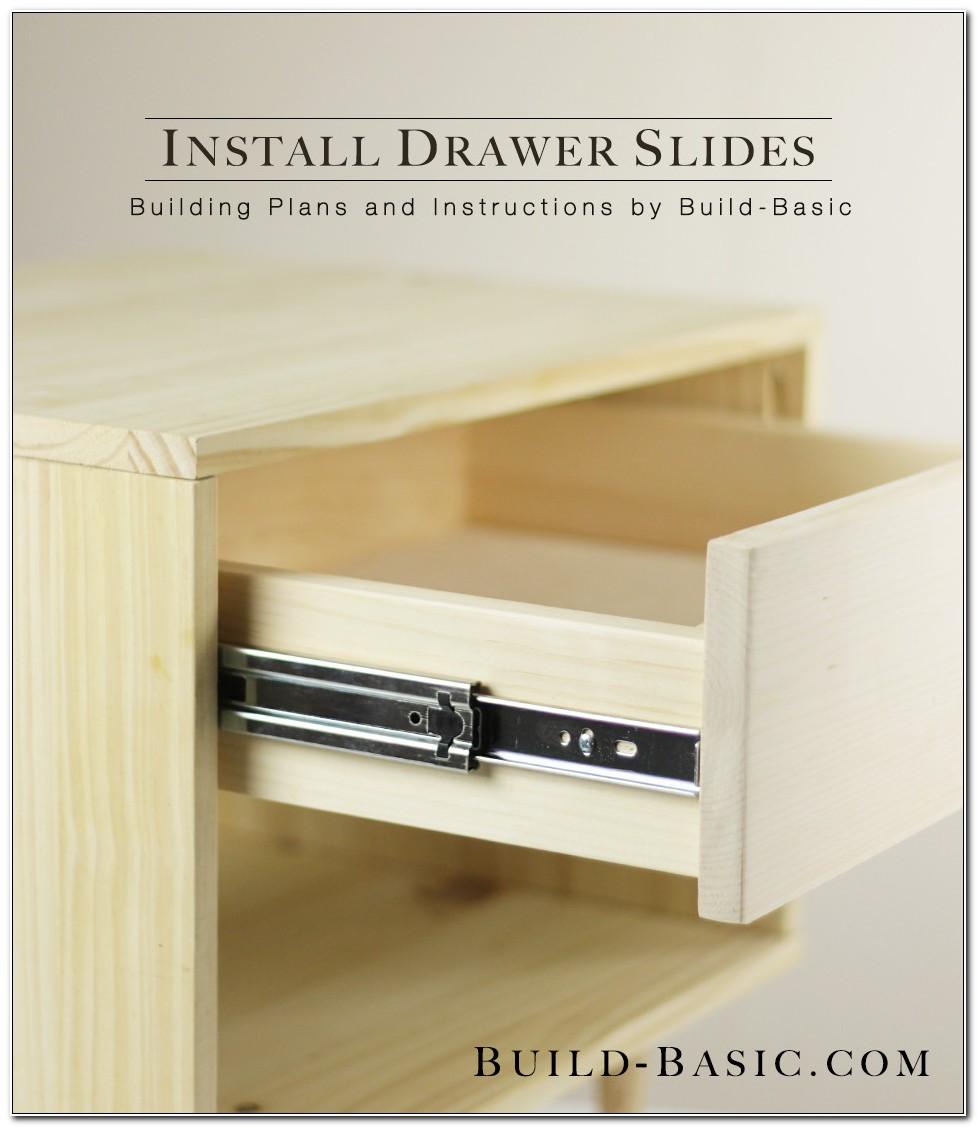 File Cabinet Drawer Slide Assembly