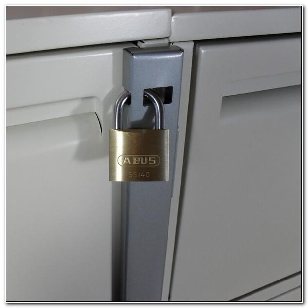 File Cabinet Lock Bar For 2 Drawer