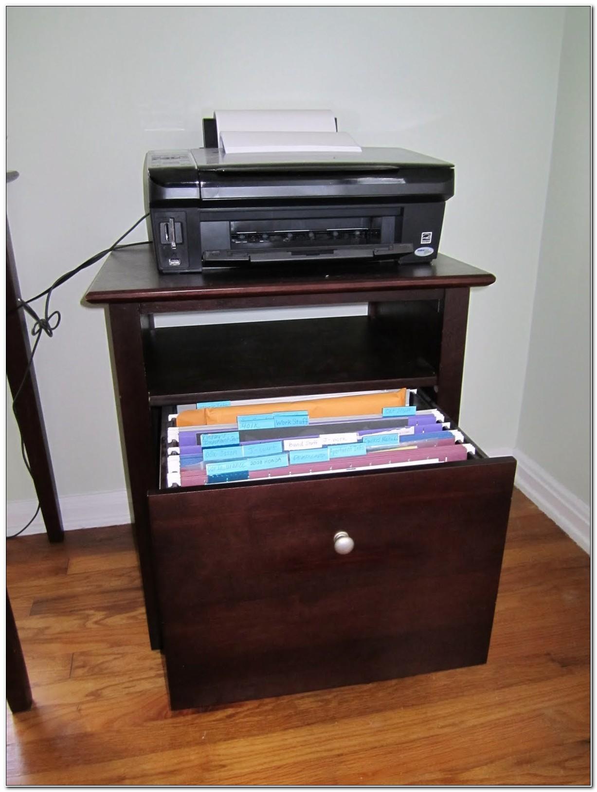 File Cabinet Printer Stand