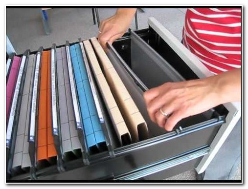 Filing Cabinet Suspension File Sizes