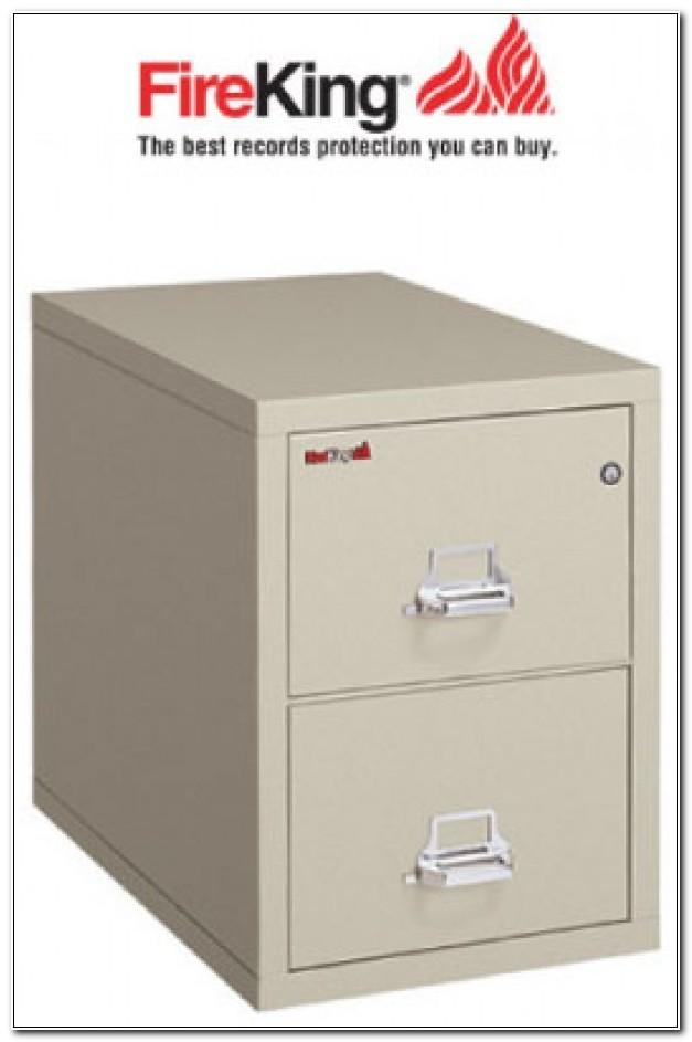 Fireking 2 Drawer Fireproof File Cabinet