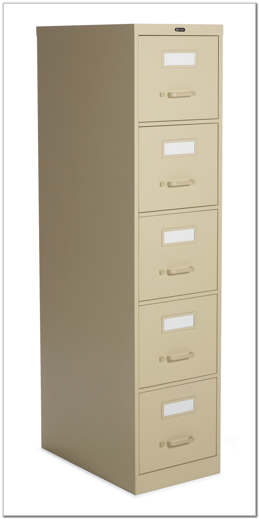 Five Drawer File Cabinet