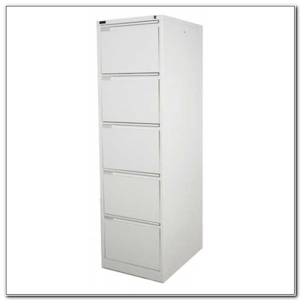 Five Drawer Metal Filing Cabinet