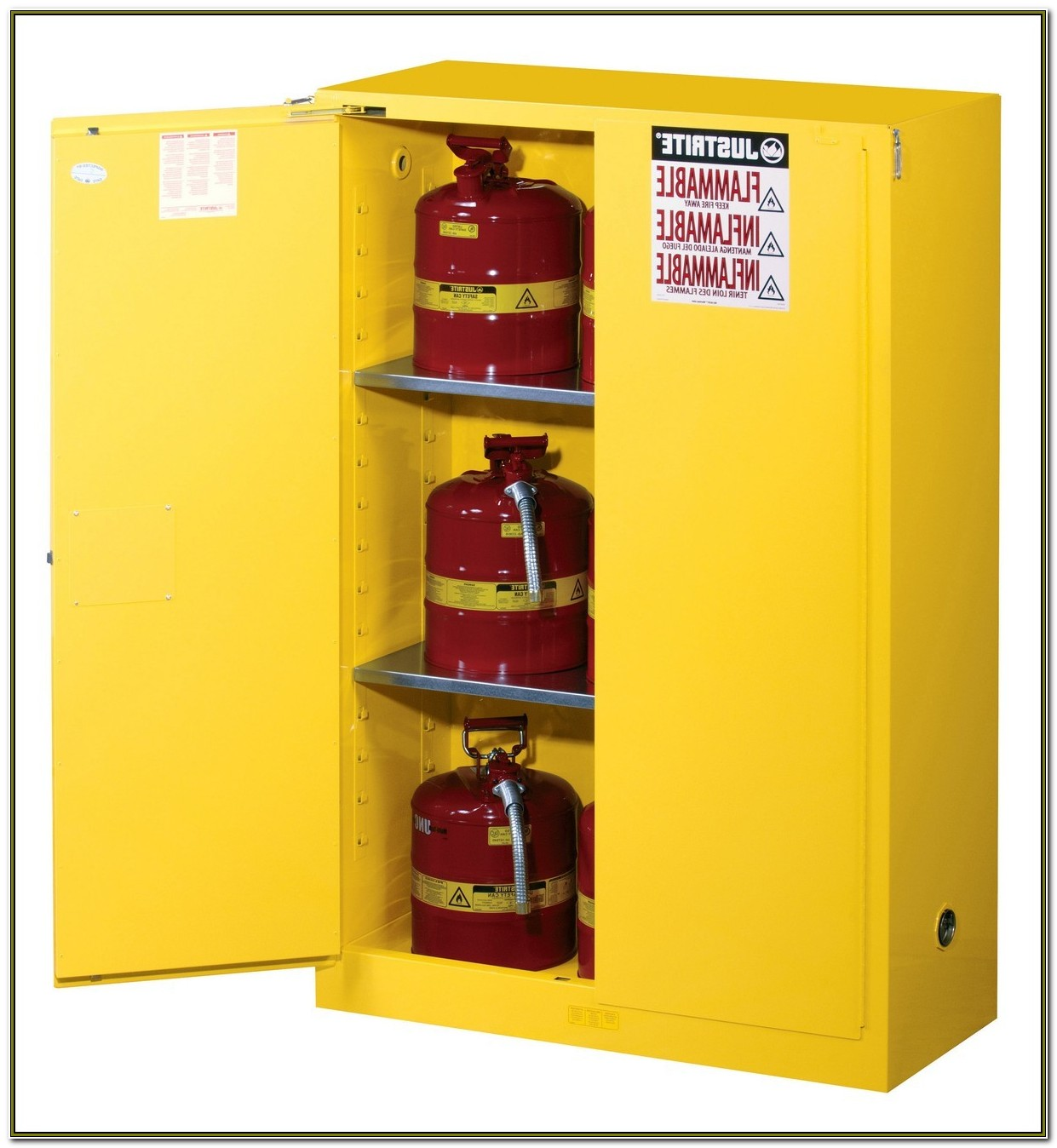Flammable Liquid Storage Cabinet Used