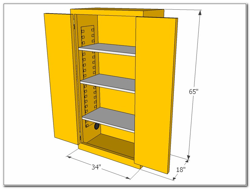 Flammable Storage Cabinet Specifications