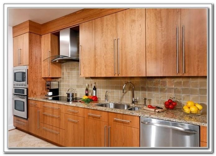Flat Door Kitchen Cabinets