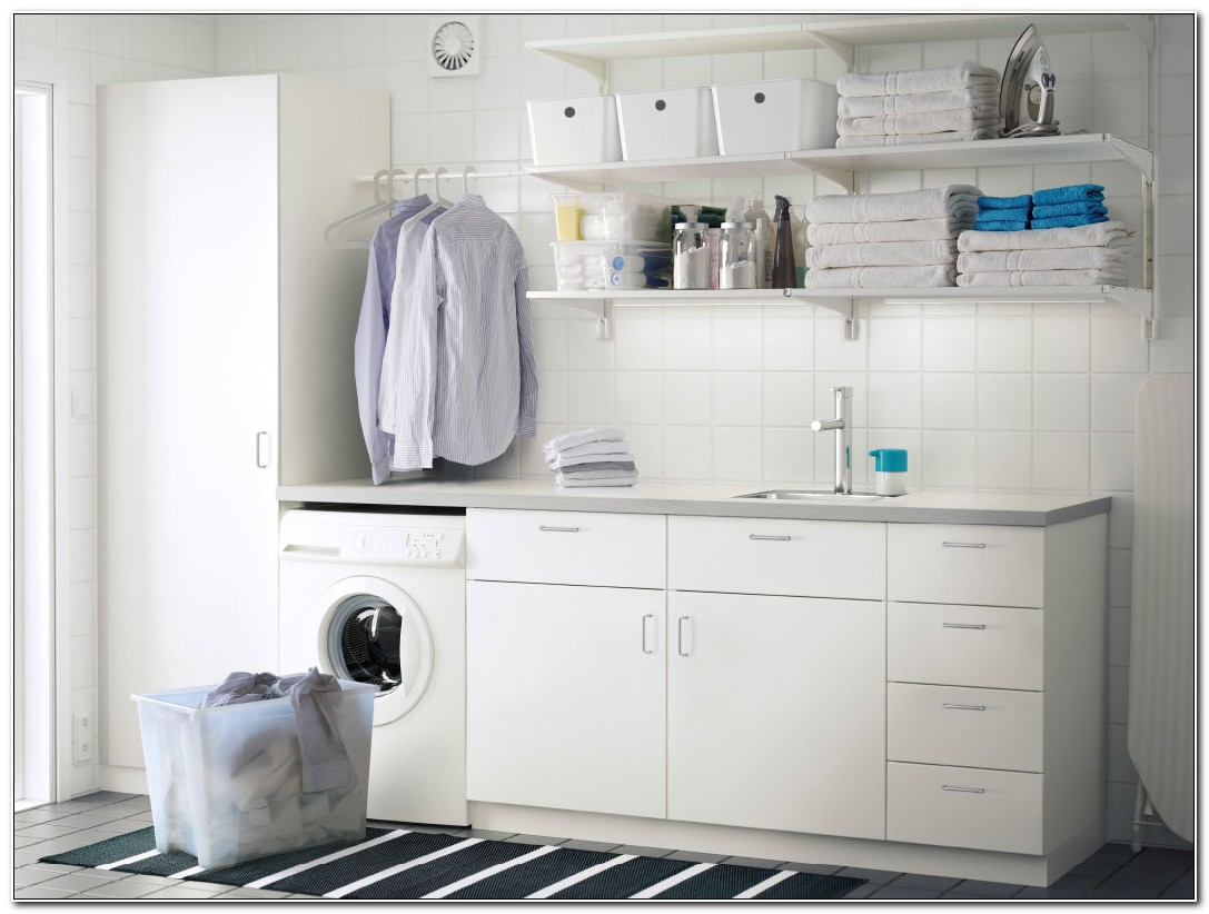 Flat Pack Laundry Cabinets Ikea