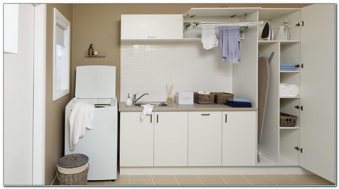 Flat Pack Laundry Cabinets