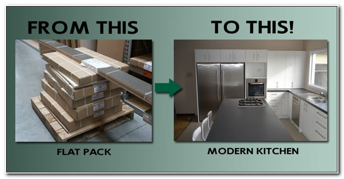 Flat Packed Kitchen Cabinets