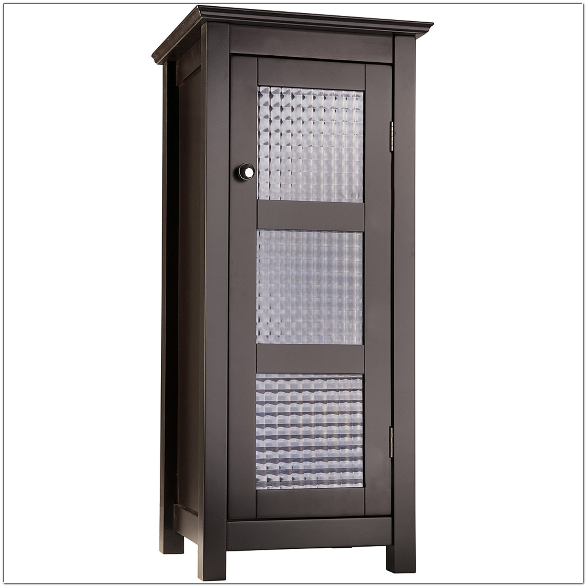 Floor Cabinet With Glass Doors