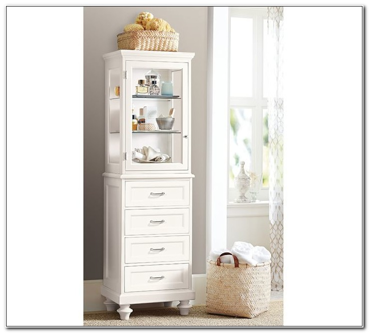 Floor Storage Cabinet With Drawers