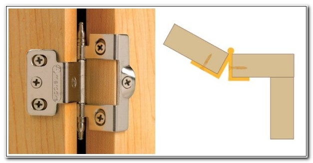 Flush Mount Kitchen Cabinet Hinges