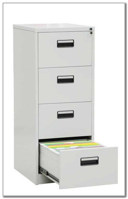 Four Drawer Filing Cabinet Metal