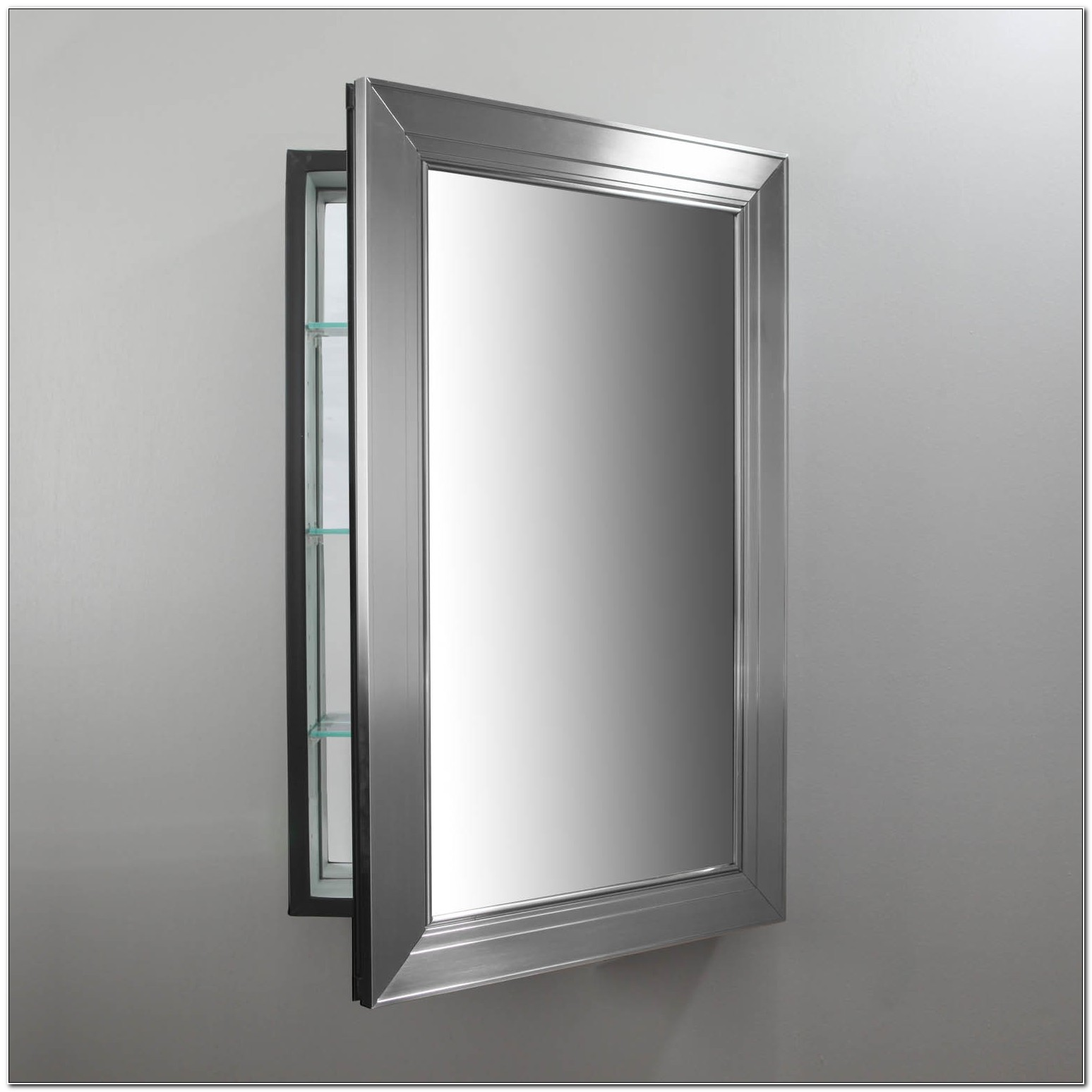 Framed Recessed Medicine Cabinets With Mirrors