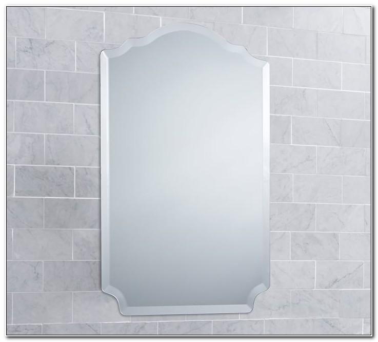 Frameless Mirrored Medicine Cabinets