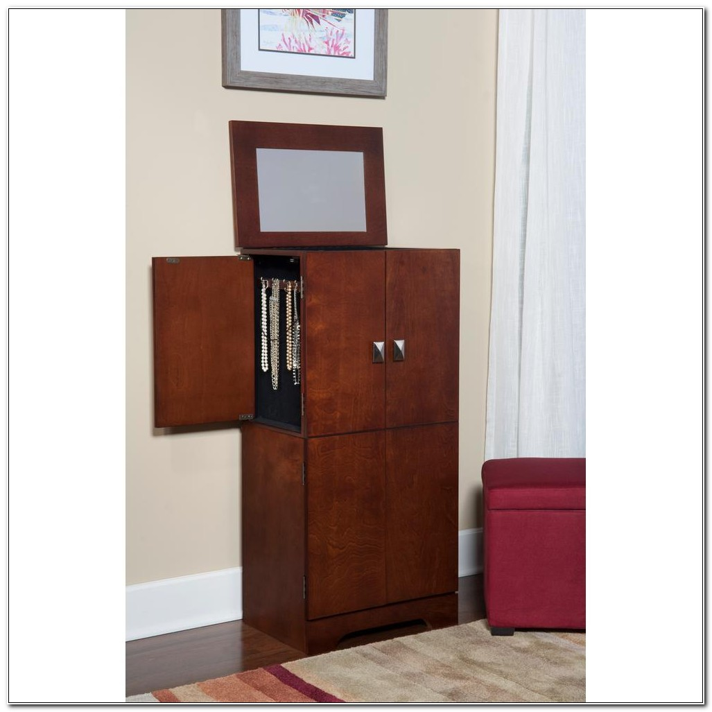 Free Standing Jewelry Cabinet