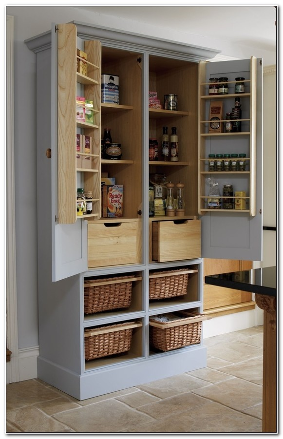 Free Standing Kitchen Pantry Cabinet