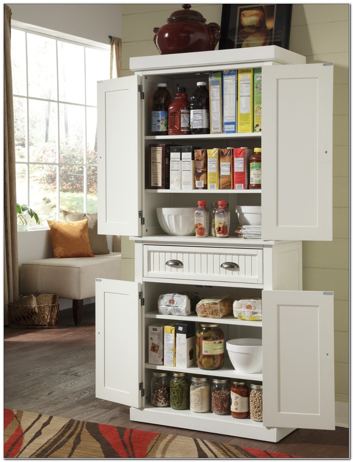Free Standing Kitchen Storage Cabinets