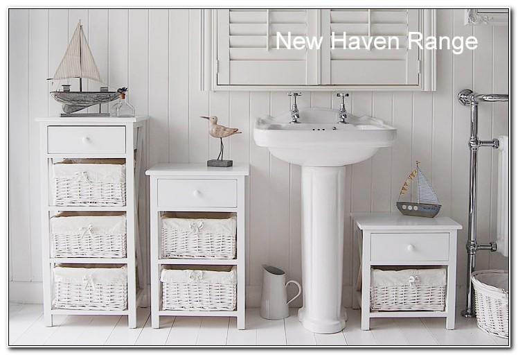 Freestanding Bathroom Furniture White