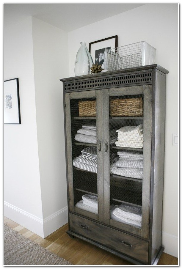 Freestanding Linen Cabinet Plans