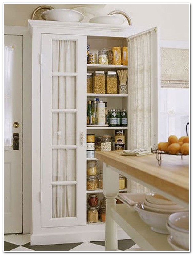 Freestanding Pantry Cabinet For Kitchen