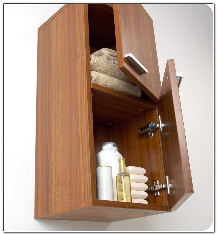 Fresca Teak Bathroom Linen Side Cabinet