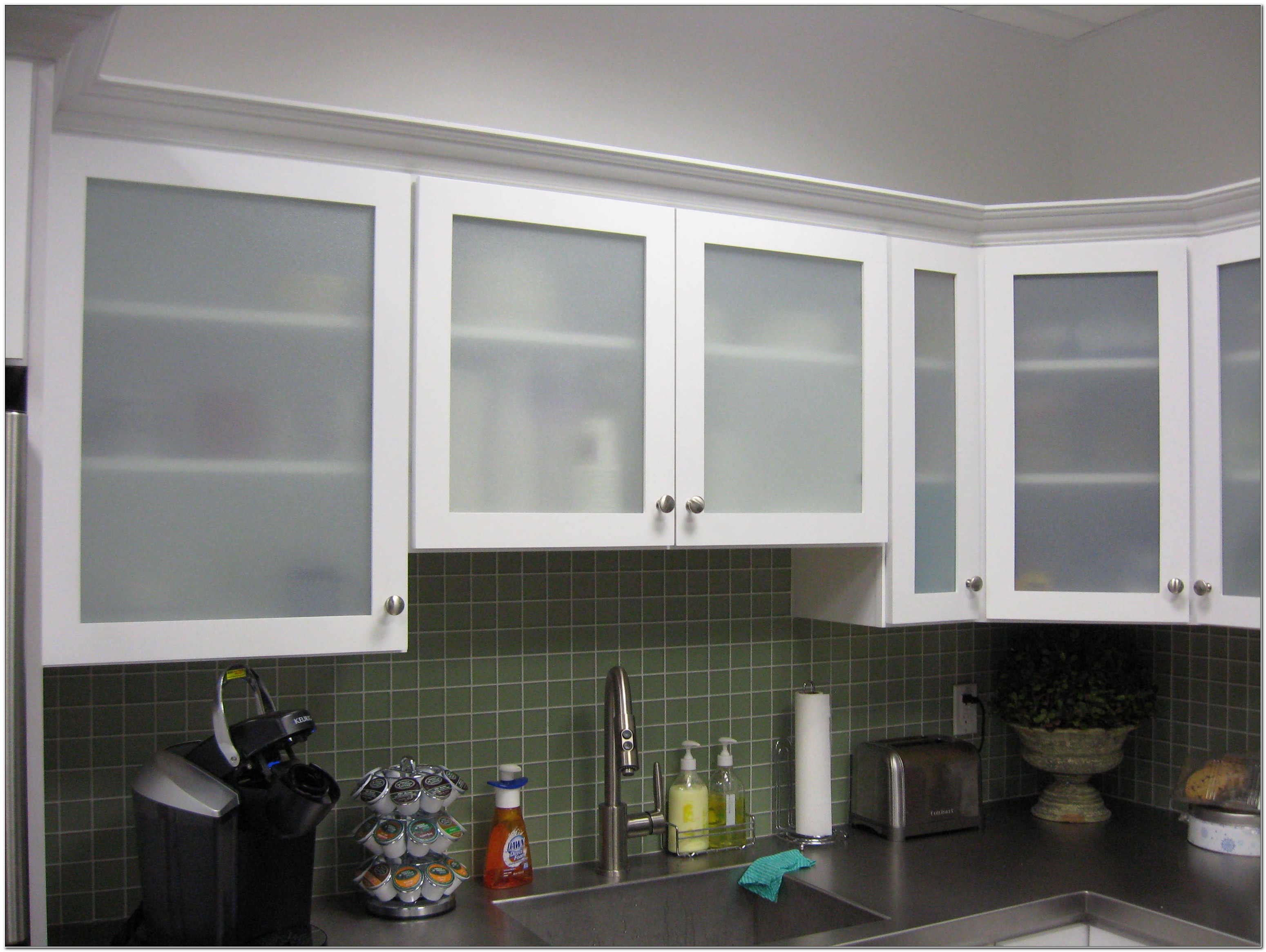 Frosted Glass Cabinet Door Fronts