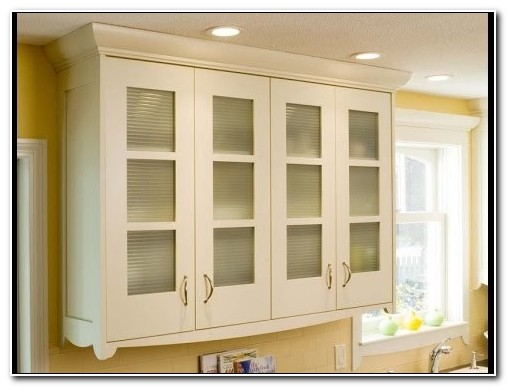 Frosted Glass Cabinet Door Inserts