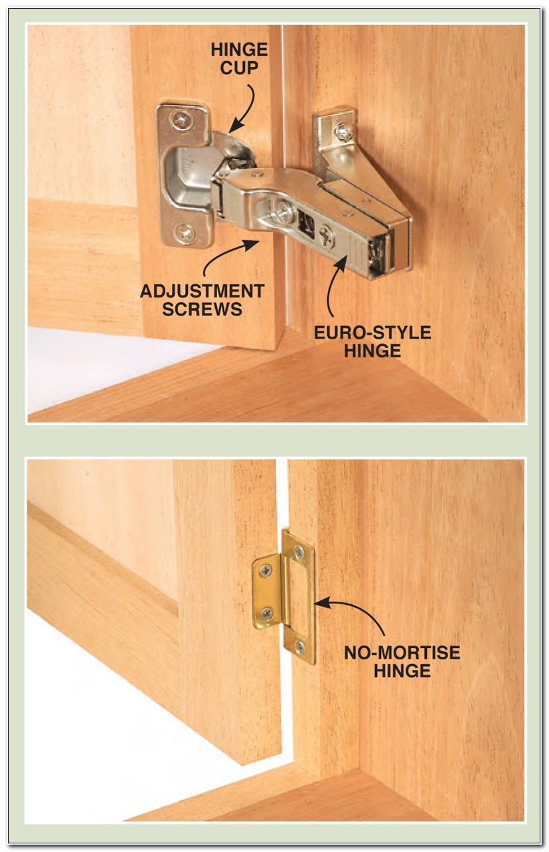 Full Inset Cabinet Door Hinges