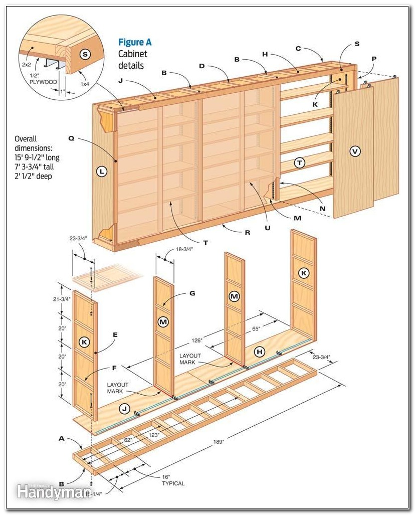 Garage Cabinet Building Plans
