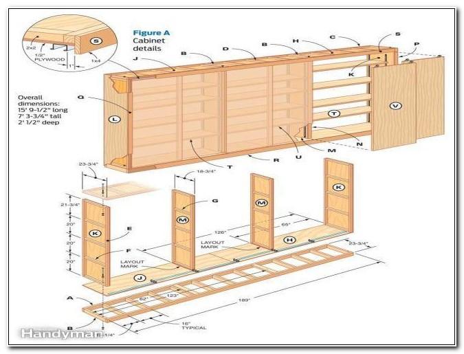 Garage Cabinet Woodworking Plans