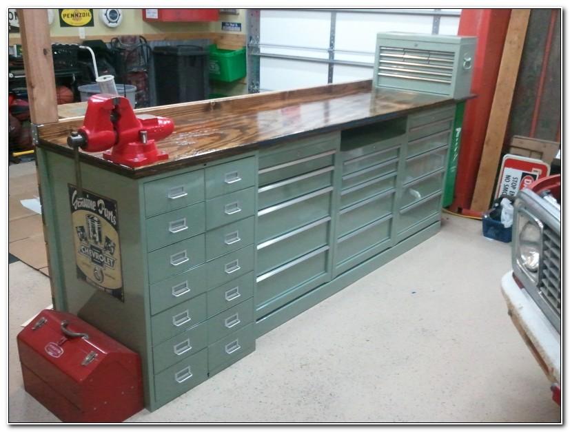 Garage Storage Workbench Tool Chest Box Cabinet