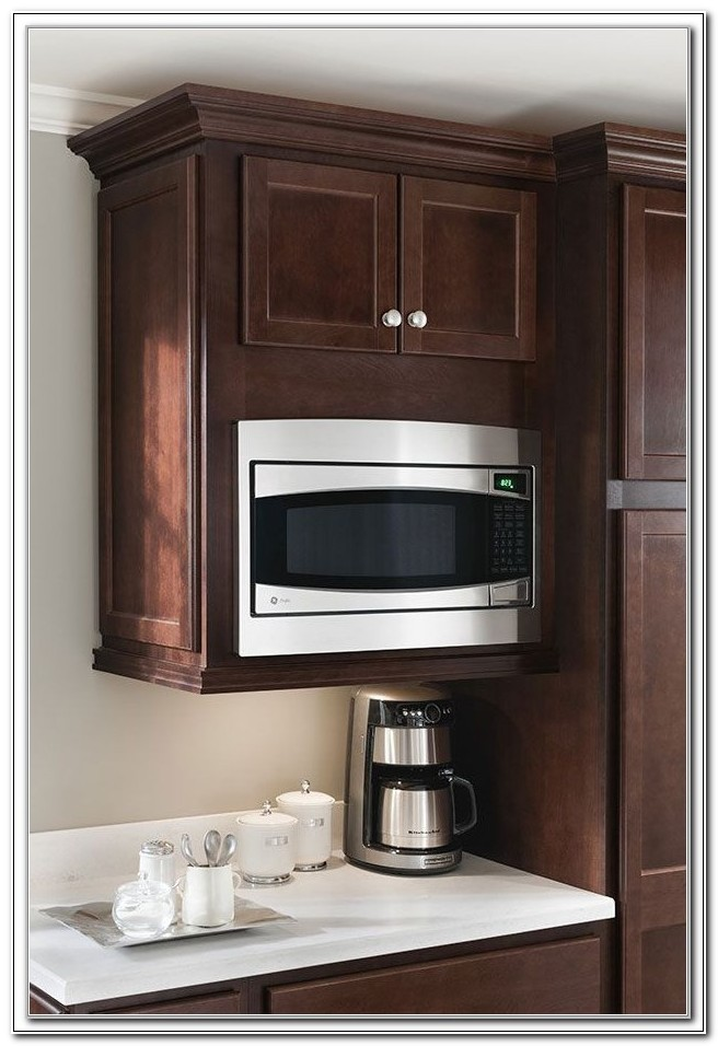 Ge Microwave Built In Cabinet
