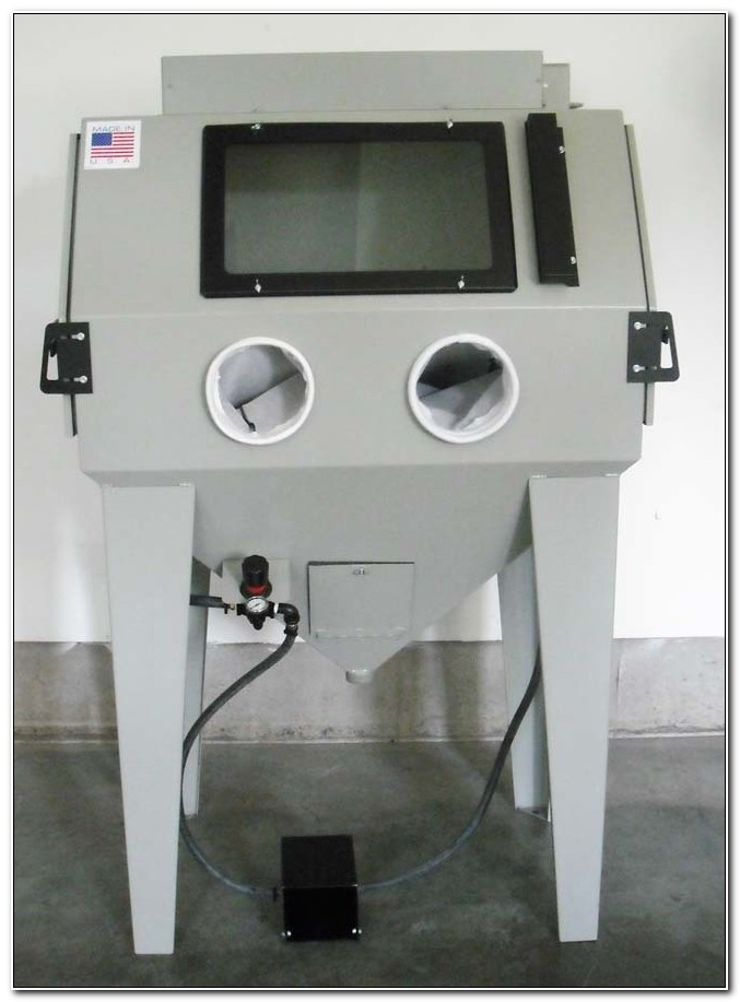 Glass Bead Blast Cabinet