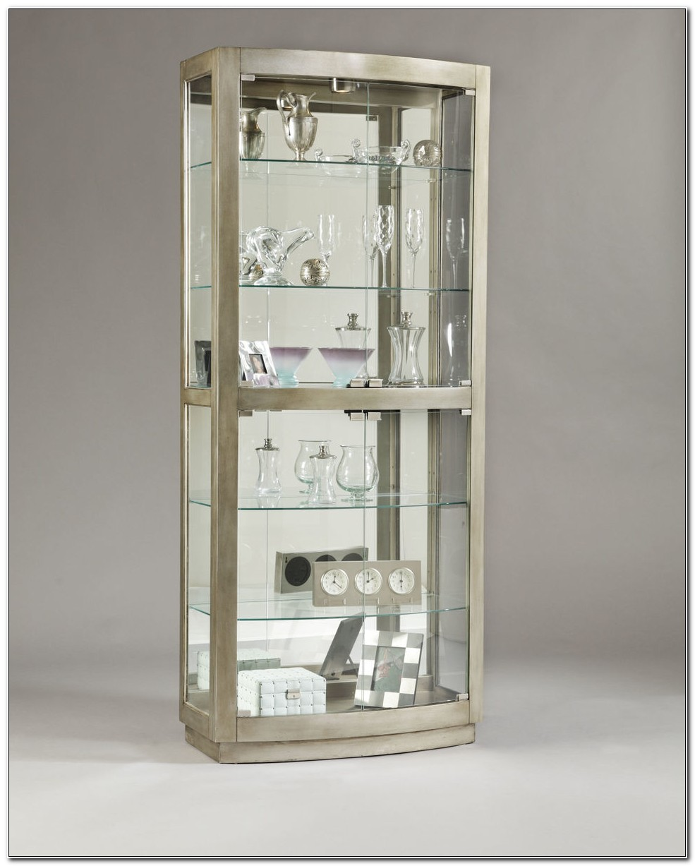 Glass Door Curio Cabinet